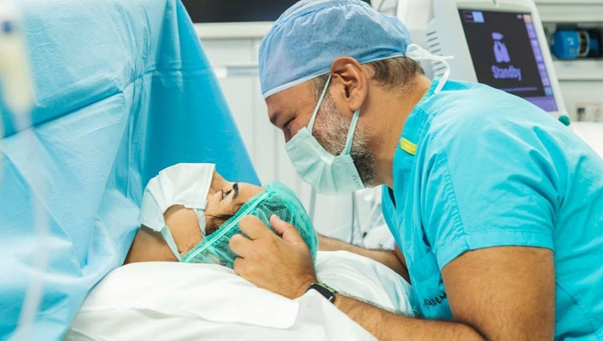 Ali Sunal ile Nazlı Kurbanzade çiftinin ikinci bebekleri Nil dünyaya geldi