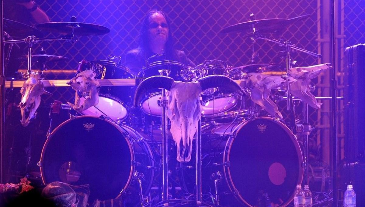 Metal grubu Slipknot'un davulcusu Joey Jordison 46 yaşında hayatını kaybetti