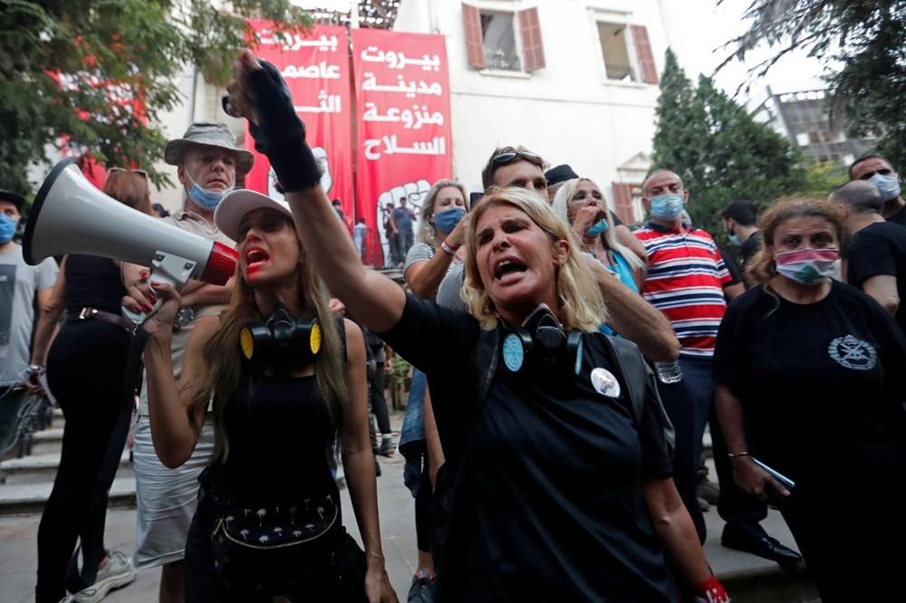 Lübnan'da hükümet karşıtı gösteri (Lübnan Başbakanı'ndan erken seçim açıklaması) - 5