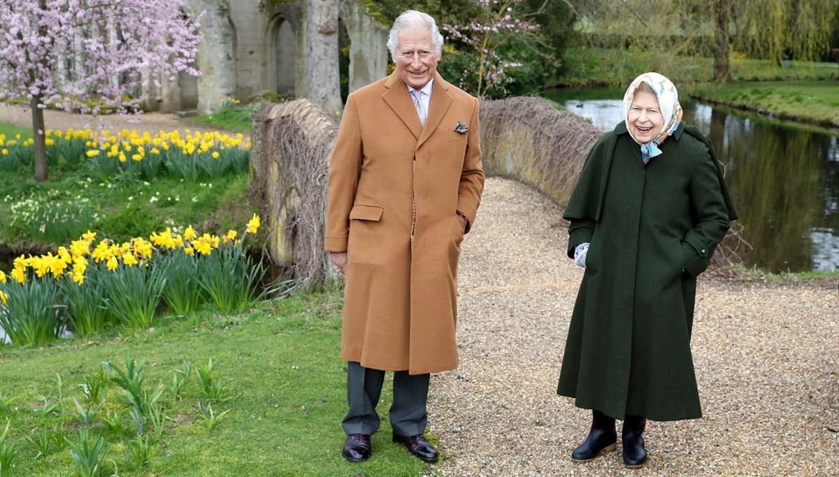 Kraliçe II.Elizabeth ve Prens Charles, Prens Harry'nin eski evinde