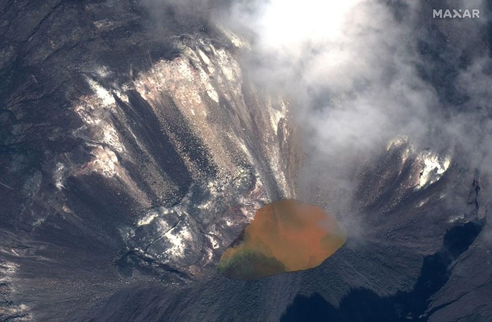 Kilauea Yanardağı'nda patlamaları: Krater gölü buharlaştı - 2