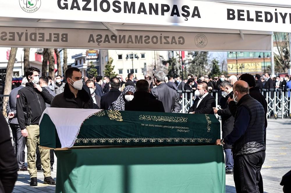 Soylu'nun annesi için tören düzenlendi (Cumhurbaşkanı Erdoğan da katıldı) - 5