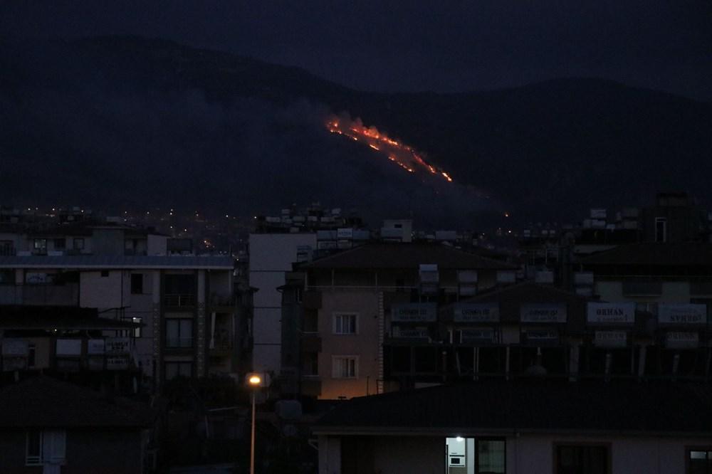 Hatay'da 2 orman yangını - 6
