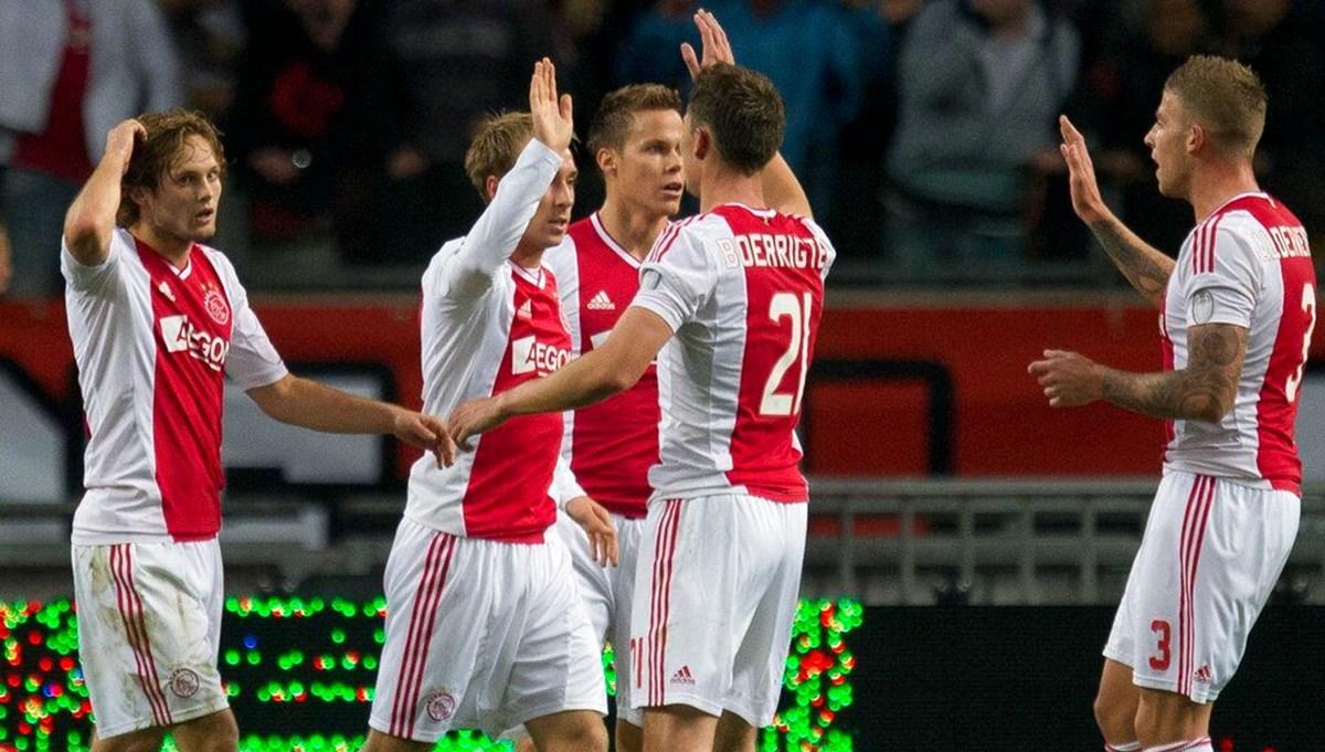 Beşiktaş'ın rakibi Ajax, Hollanda liginde Cambuur'u 9-0 yendi