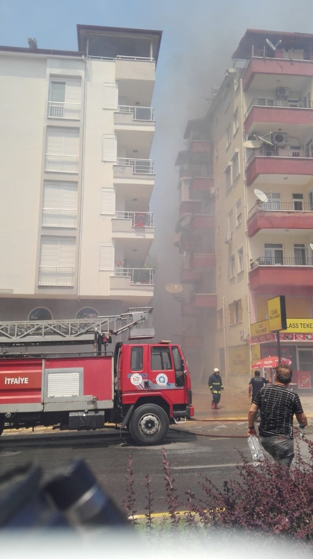 Antalya Manavgat'ta büyük orman yangını - 14
