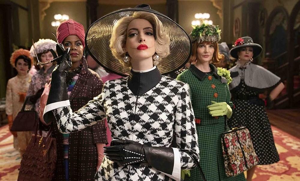 Anne Hathaway The Witches'ın kamera arkası görüntülerini paylaştı - 2
