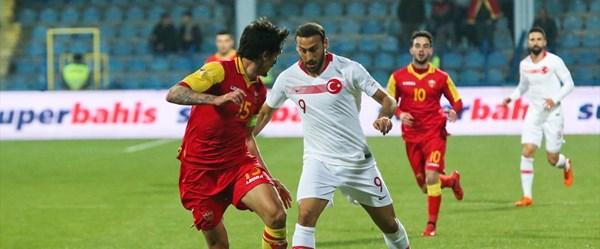 Karadağ-Türkiye maçı