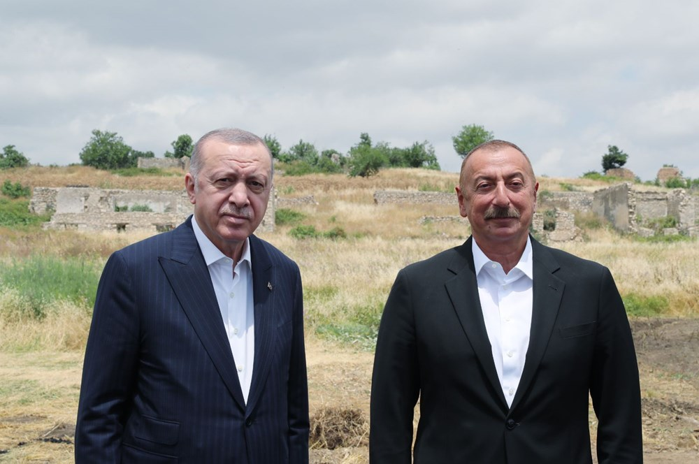 Cumhurbaşkanı Erdoğan ve Aliyev Şuşa Beyannamesi'ni imzaladı - 21