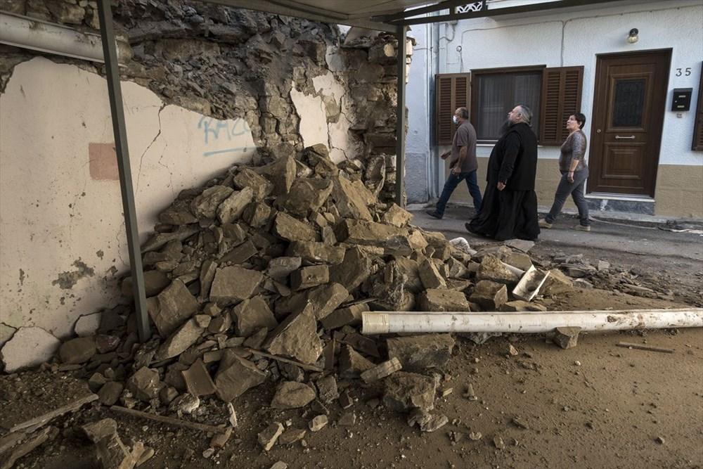 Depremin vurduğu Yunan adası Sisam'da son durum - 29