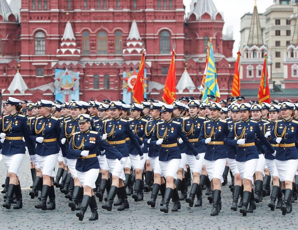 Rusya'da Zafer Günü kutlamaları: Moskova'da askeri geçit töreni - 22