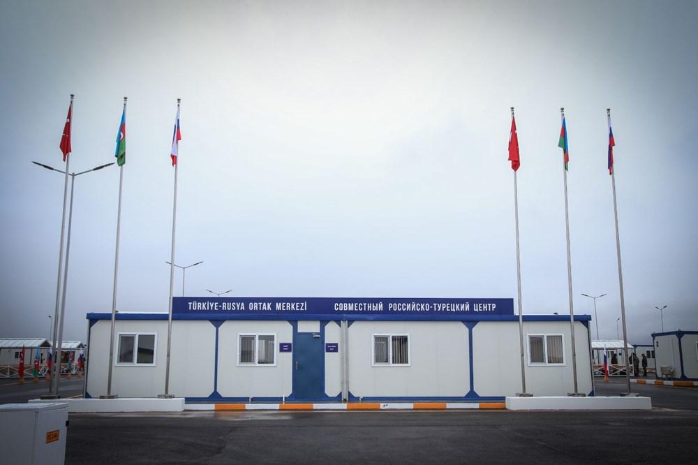 Dağlık Karabağ'da Türk-Rus Ortak Gözlem Merkezi faaliyete başladı - 35
