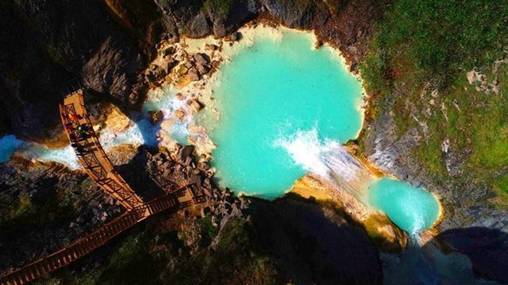 Giresun'un saklı cenneti Mavigöl, pandemide gezginlerin uğrak yeri oldu - 5