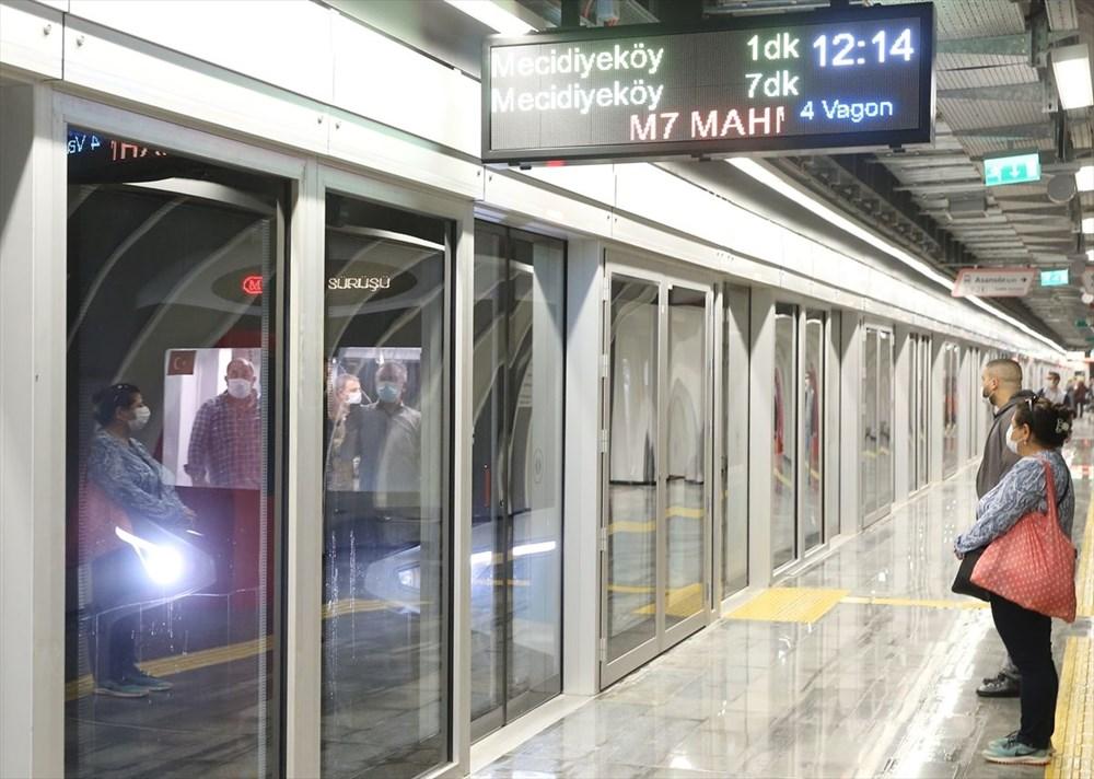 Mecidiyeköy-Mahmutbey Metrosunda seferler başladı - 7