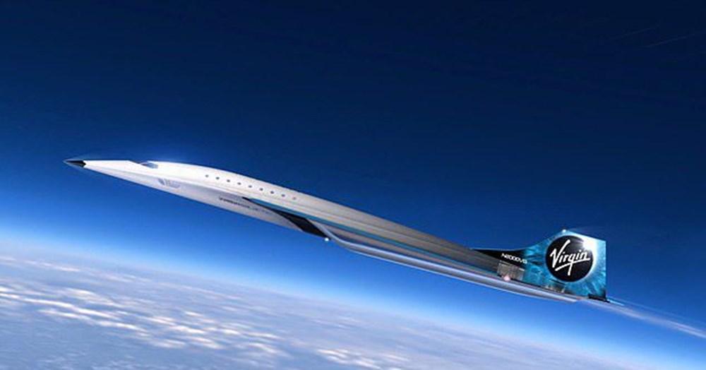 Uzay şirketi tasarımını paylaştı! İşte sesten 3 kat hızlı giden süpersonik jet - 3