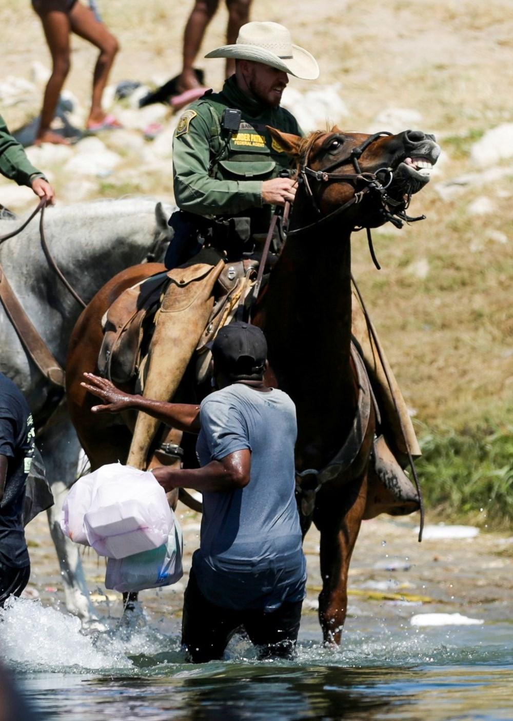 ABD'li sınır muhafızları kementlerle göçmenlere saldırdı: Beyaz Saray özür diledi - 3