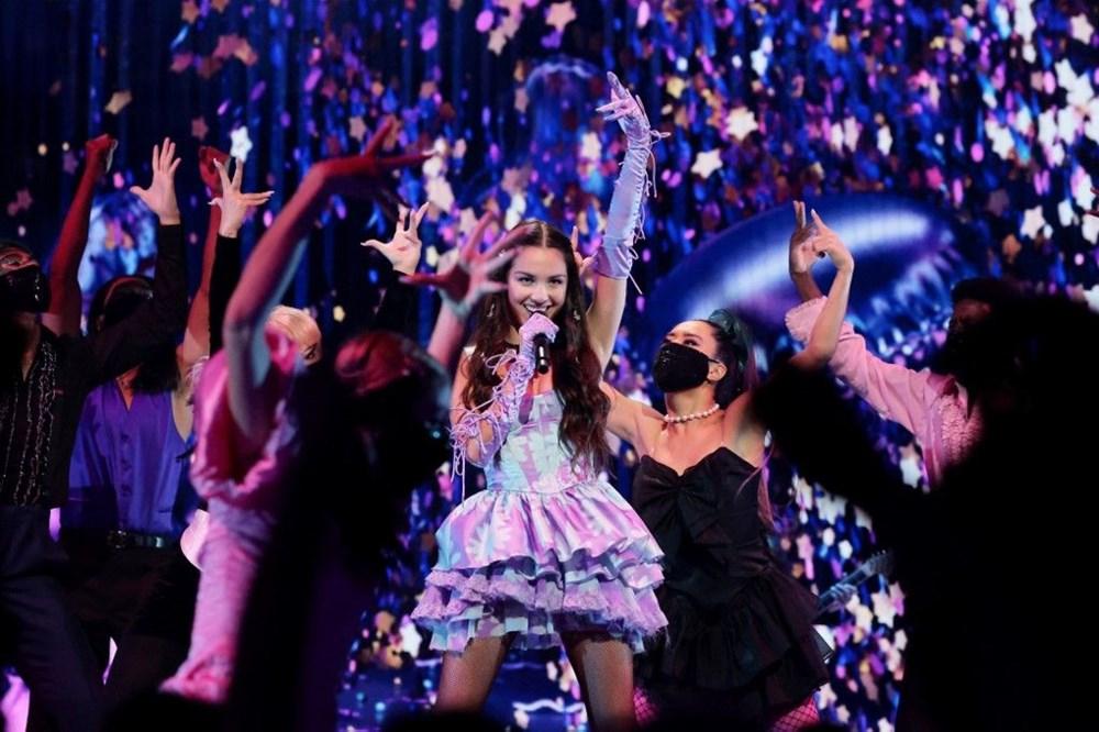 2021 MTV Video Müzik Ödülleri sahiplerini buldu - 16