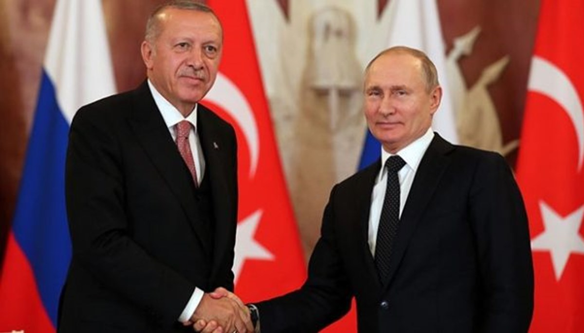 SON DAKİKA HABERİ: Cumhurbaşkanı Erdoğan Putin ile görüştü