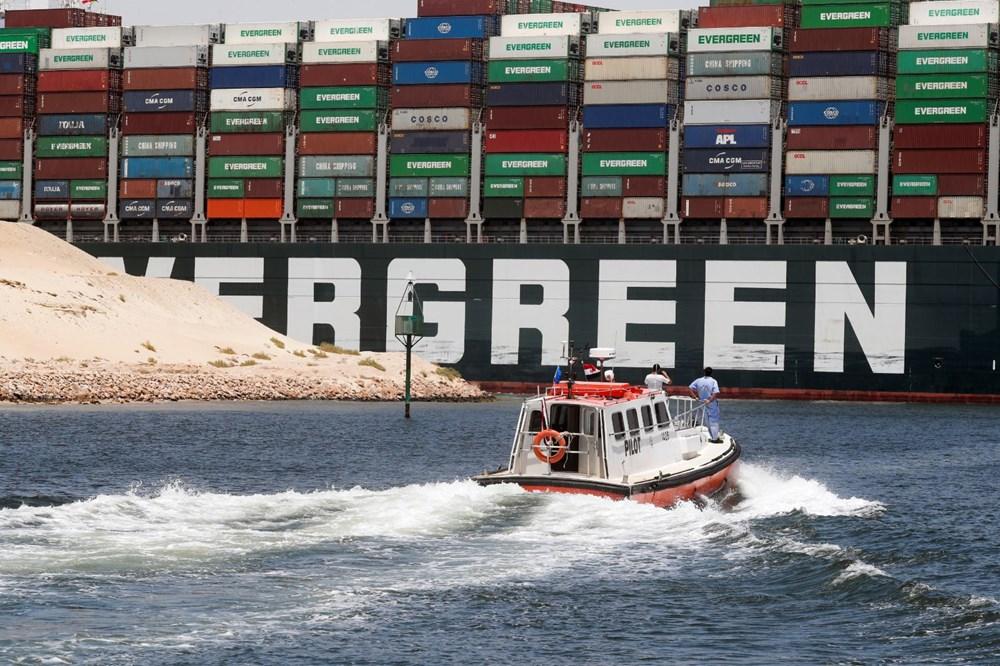 Süveyş Kanalı'nı tıkayan gemi 108 gün sonra serbest - 6