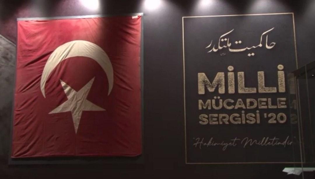 Milli mücadele sergisi açılıyor