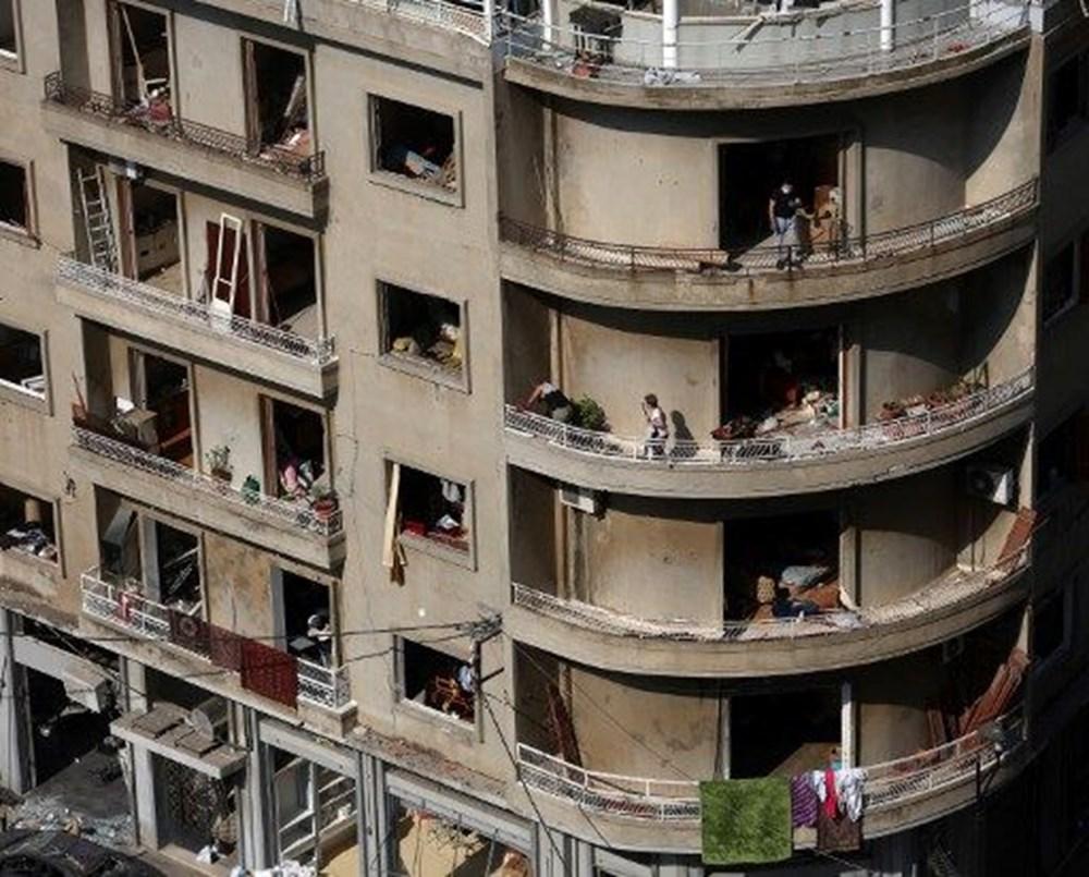 Harabelerin ortasındaki Lübnan halkı: Binlerce kişi evsiz - 1