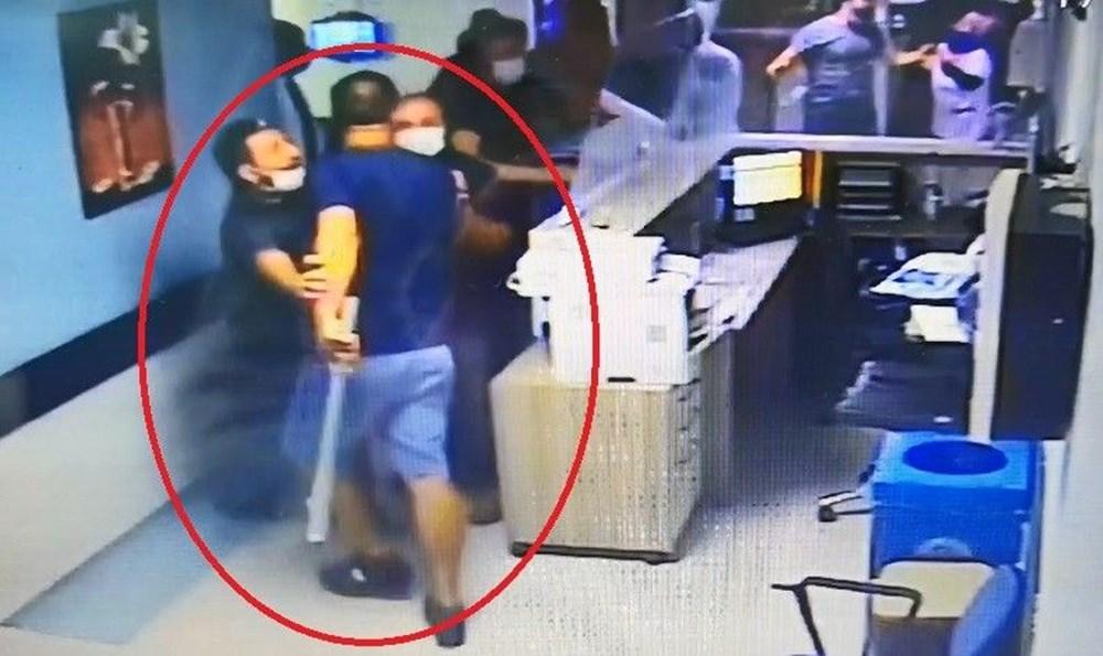 Hastanede güvenlik görevlisi ve doktora saldırı - 2