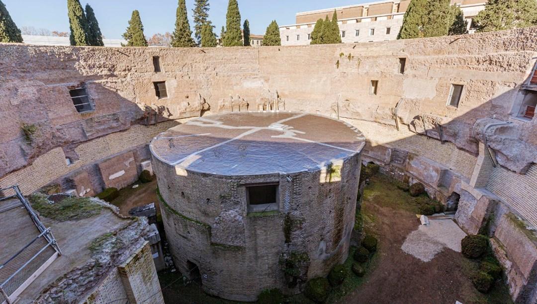 Roma İmparatorluğu'nun ilk hükümdarı Augustus'un anıt mezarı ziyarete açıldı