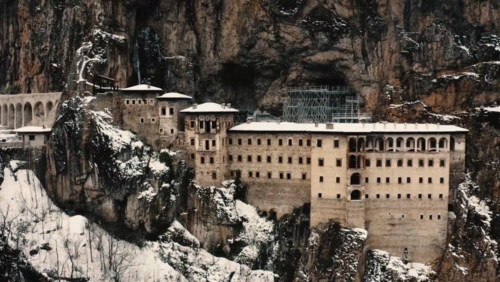 Sümela Manastırı'nın 5 yıllık restorasyon serüveni - 13