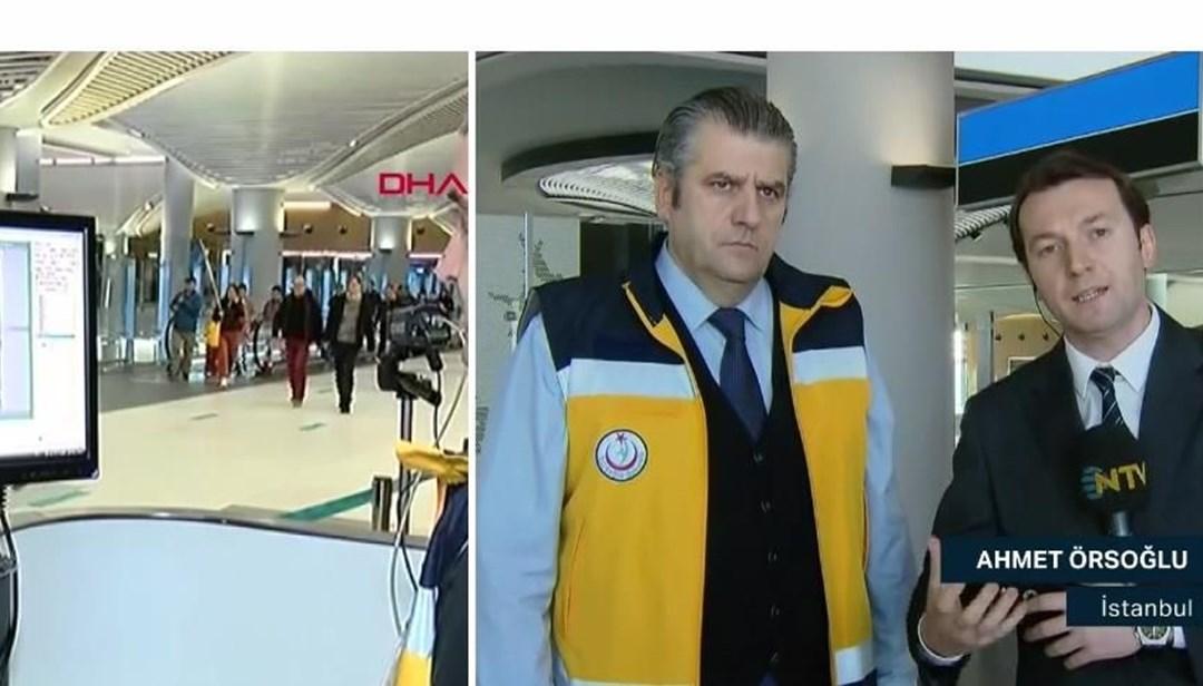 İstanbul Havalimanı'nda nasıl bir virüs taraması yapılıyor? (Canlı yayında virüs testi)