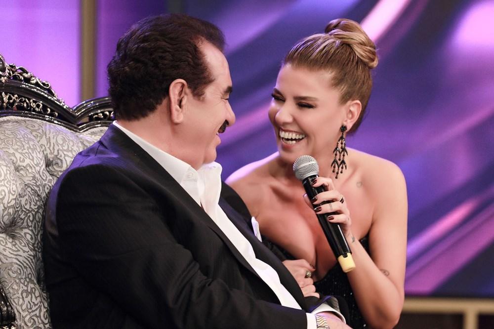 İbo Show yeni bölüm fotoğrafları: İbrahim Tatlıses'in kızı Elif Ada ilk kez stüdyoda - 4