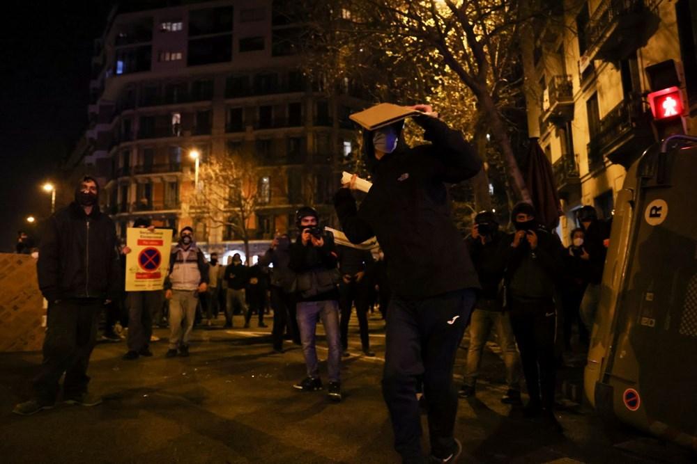 İspanya'da tutuklanan rapçi Hasel'e destek gösterileri üçüncü gününde - 11