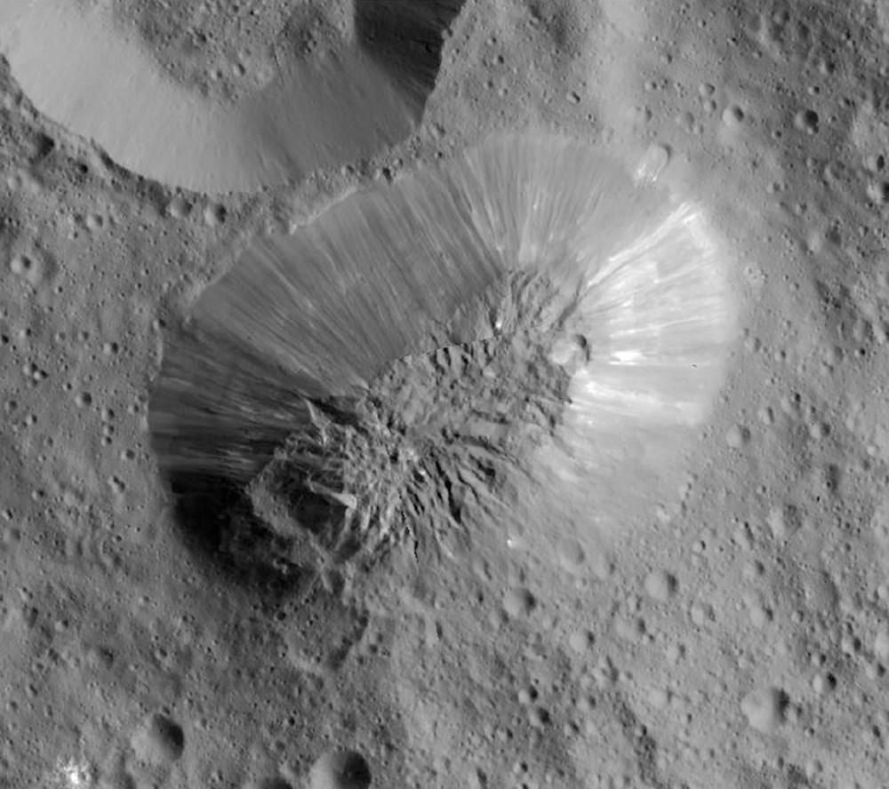 Dünya'ya en yakın cüce gezegen Ceres'te hayat olabilir - 5