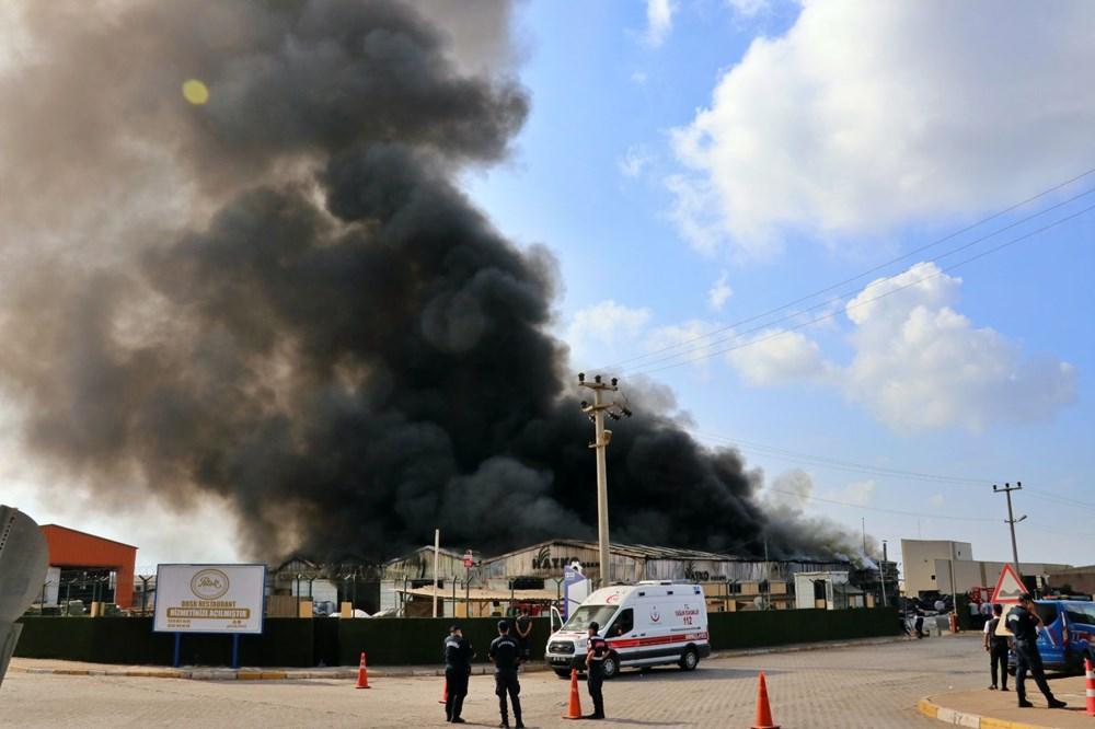 Osmaniye'de fabrika yangını - 1
