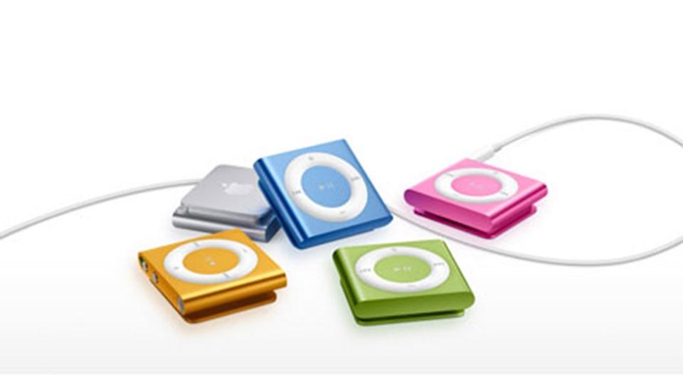Yeni iPod Shuffle