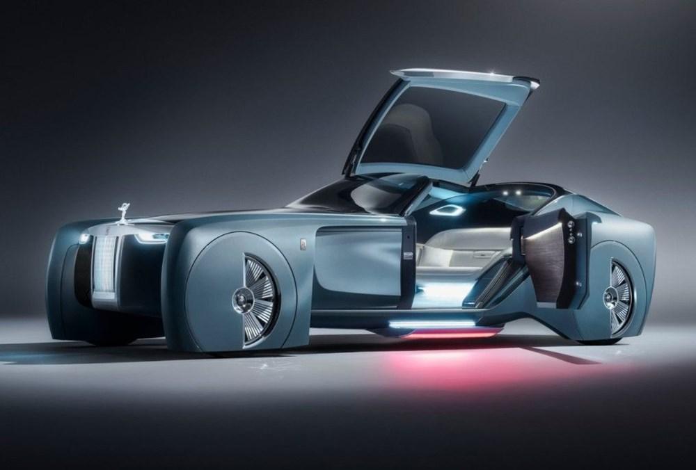 Rolls-Royce'un ilk elektrikli otomobili: İsmi açıklandı - 2