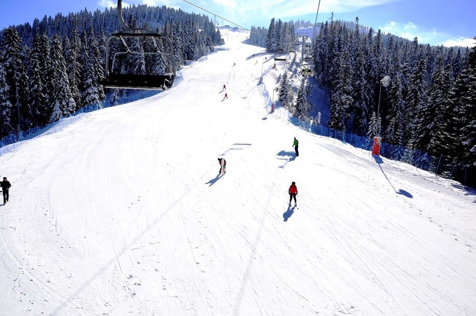 Kış mevsimi Ilgaz Dağı