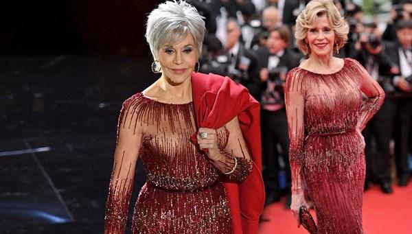 2020 Oscar Ödülleri'nde kıyafetlerde çevrecilik etkisi (Jane Fonda 6 yıl sonra aynı elbiseyle)