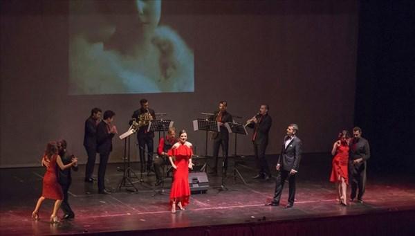 Antalya Devlet Opera ve Balesi Tangoloji konserini sahneledi