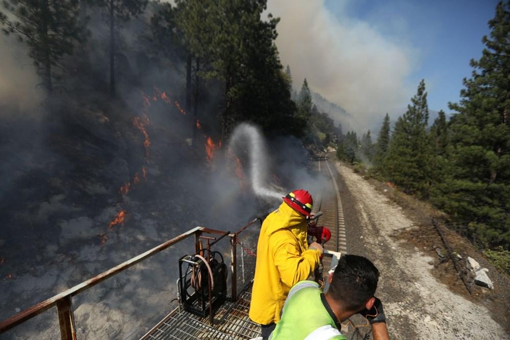 ABD'deki yangın 82 kilometreye yayıldı - 9