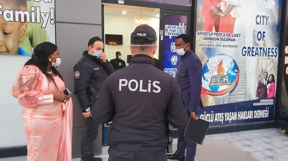 """Esenyurt'ta polisin """"parti var"""" ihbarına gittiği yer Nijeryalıların derneği çıktı - 2"""