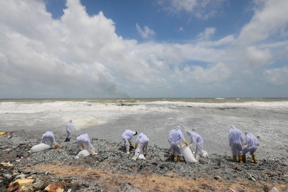 Kimyasal madde taşıyan gemi battı: Sri Lanka çevre felaketiyle karşı karşıya - 13