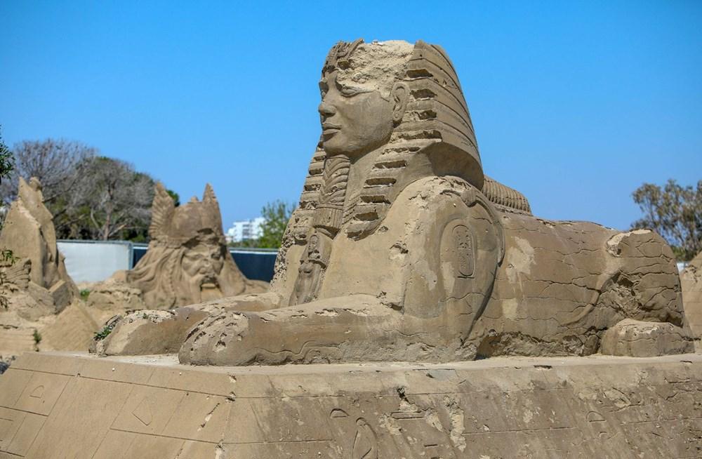 Atlantis, kum heykellerle canlanacak - 8