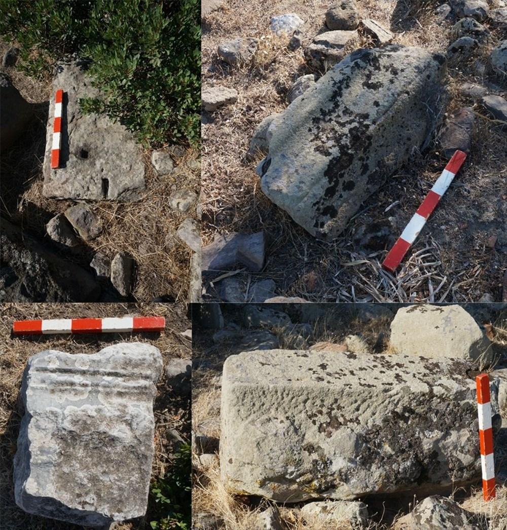 Urla'da 2 bin 500 yıl öncesine ait Afrodit Tapınağı kalıntıları bulundu - 2