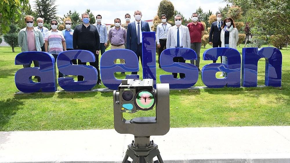Dijital birliğin robot askeri Barkan göreve hazırlanıyor (Türkiye'nin yeni nesil yerli silahları) - 84