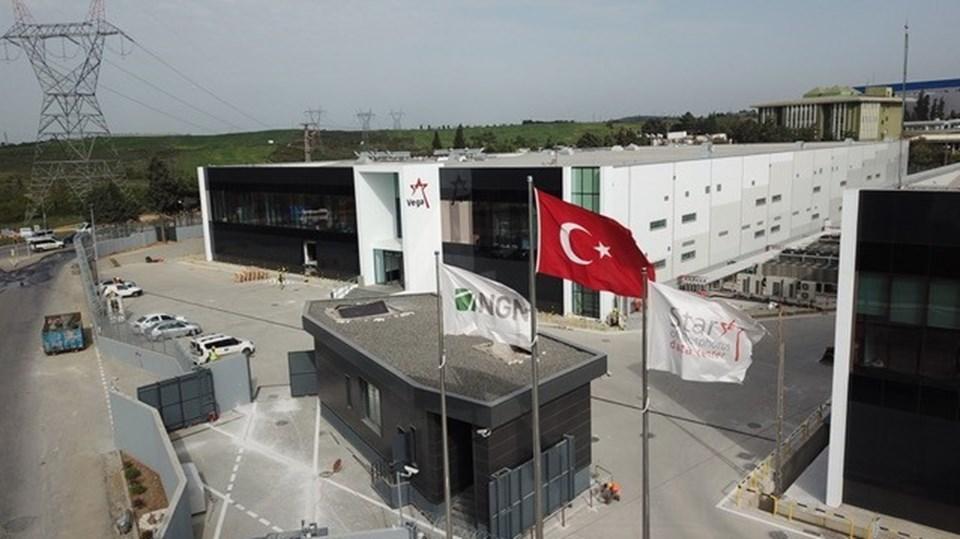 """Tuzla'da """"Türkiye'nin dijital kalesi"""" olarak adlandırılanStar of Bosphorus veri merkezi"""