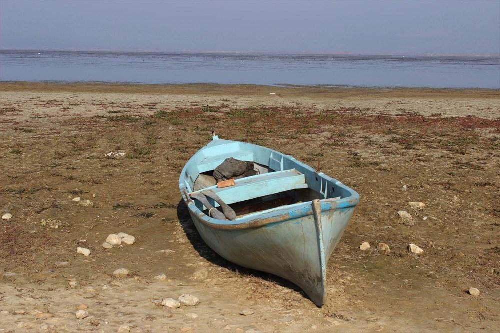 'Kuş cenneti' Marmara Gölü'nde derinlik 40 santimetreye düştü - 2