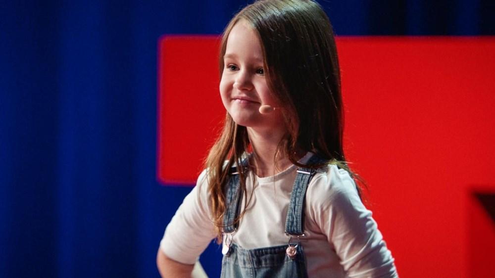 Yedi yaşındaki Molly Wright TED konuşması yaptı - 5