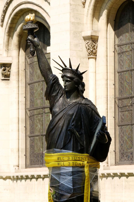 Fransa'dan ABD'ye yeni Özgürlük Heykeli - 7