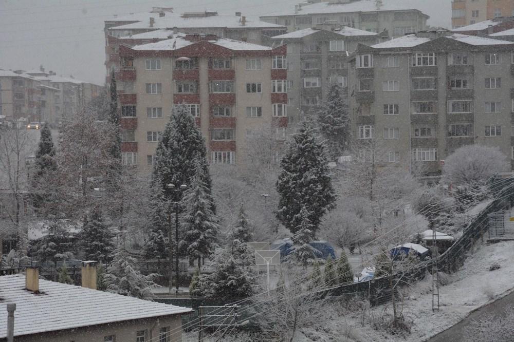 Yurtta kar yağışı (İzmir'in yüksek kesimlerinde kar yağışı etkili oluyor) - 15