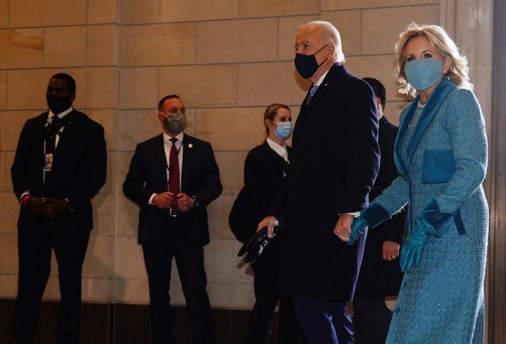 Joe Biden'ın yemin töreninden kareler (ABD'nin 46. Başkan Joe Biden göreve başladı) - 1