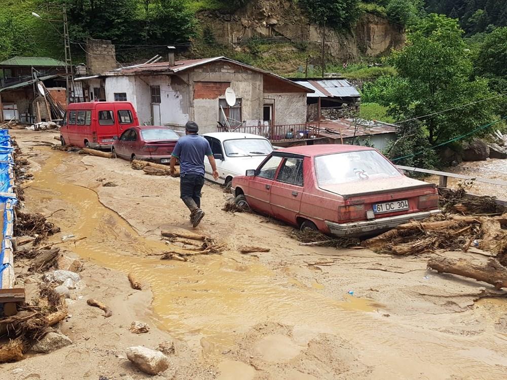 Şiddetli yağış Rize'yi de vurdu: 2 can kaybı - 23